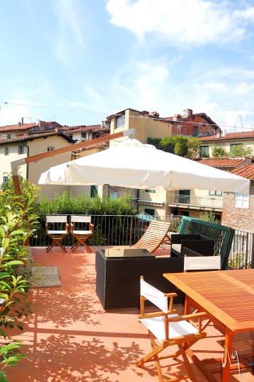 Terrazza - apartment in lucca with terrace