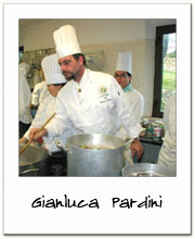 Gianluca Pardini - cooking lessons in Lucca